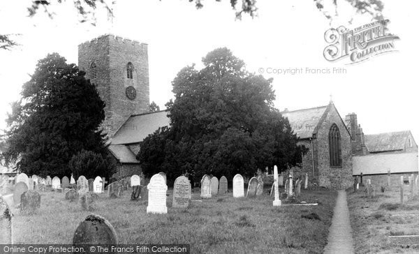 Photo of Bampton, St Michael's Church c1950