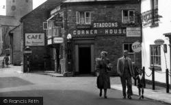 Bampton, Staddons Corner House c.1950
