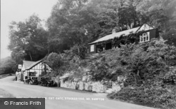 Bampton, The Black Cat Cafe c.1950