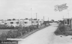Bampton, The Caravan Park c.1965