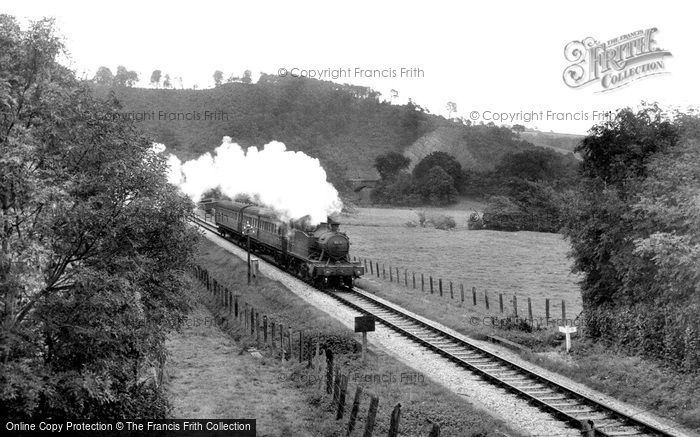 Photo of Bampton, The Railway c.1955