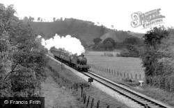 Bampton, the Railway c1955