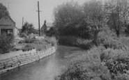 Bampton, The Stream c.1965