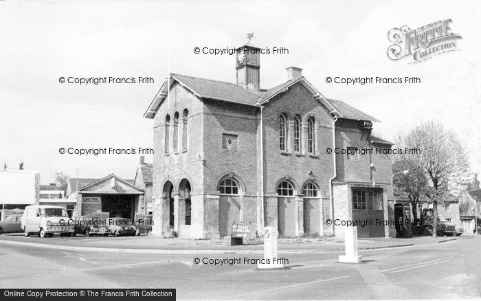 Photo of Bampton, Town Hall c.1965