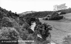Valley Of The Exe c.1950, Bampton