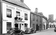 Bampton, White Horse Hotel c1950