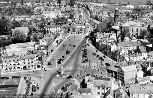 Photo of Banbury, Aerial View c.1960