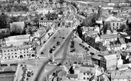 Banbury, Aerial View c.1960