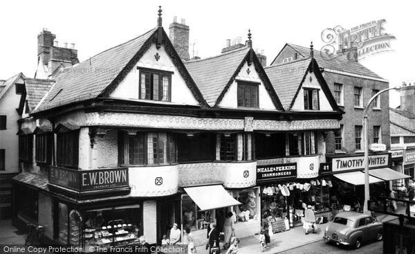 Photo of Banbury, Ancient Houses, High Street c.1960