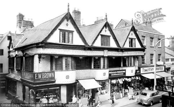 Banbury, Ancient Houses, High Street c.1960