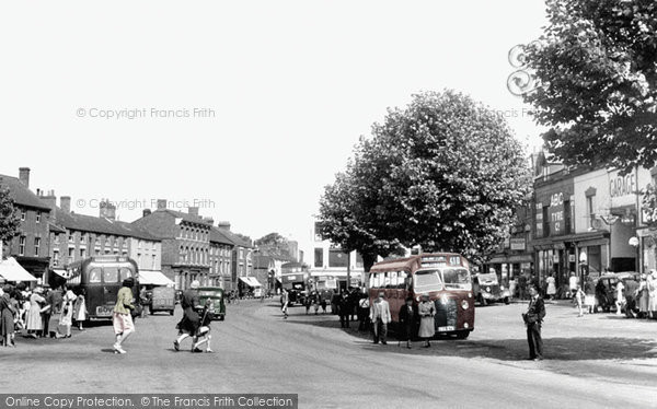 Photo of Banbury, Bridge Street c.1955