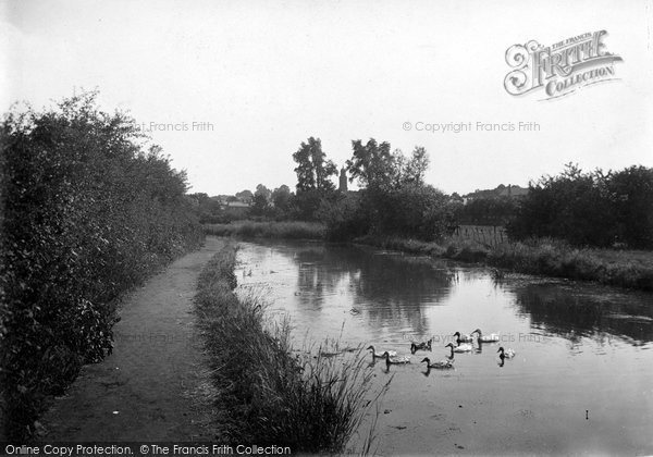 Photo of Banbury, Canal 1921