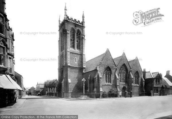 Photo of Banbury, Christ Church 1922