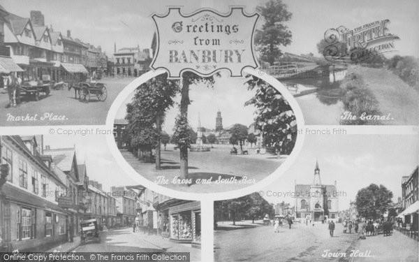 Photo of Banbury, Composite c.1920