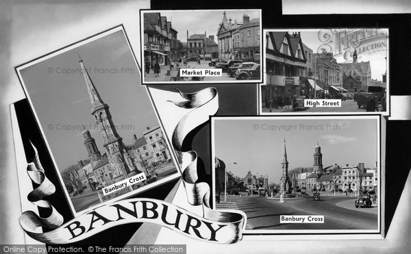 Photo of Banbury, Composite c.1959