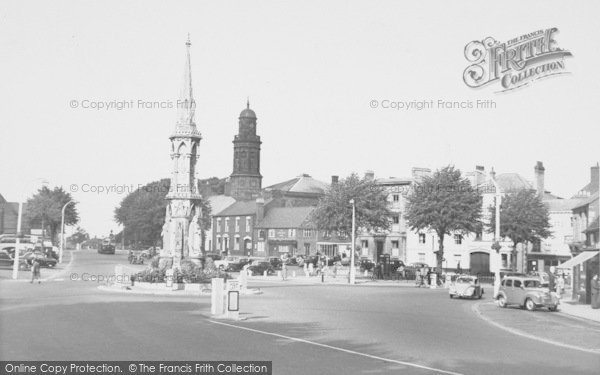 Photo of Banbury, Cross c.1955