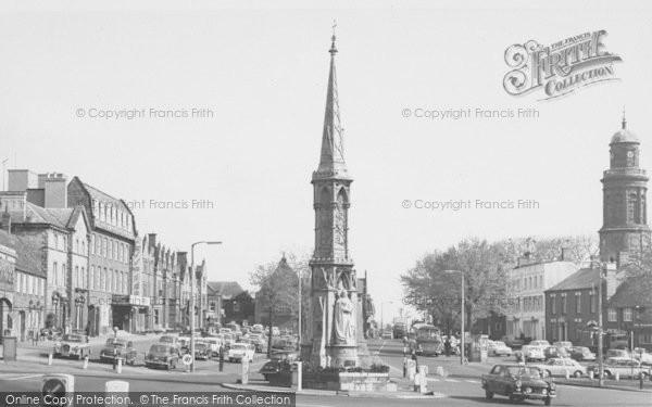 Photo of Banbury, Cross c.1965