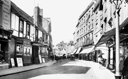 Banbury, High Street 1921