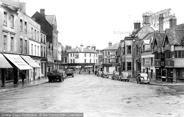Photo of Banbury, High Street c.1955