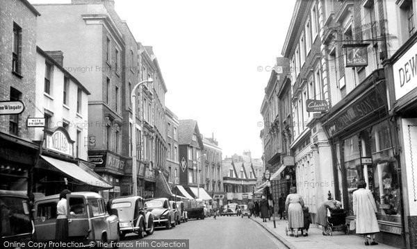 Photo of Banbury, High Street c.1955