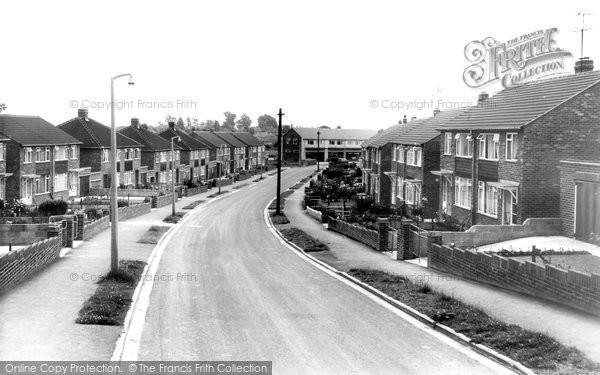 Photo of Banbury, Hillview Crescent c.1960