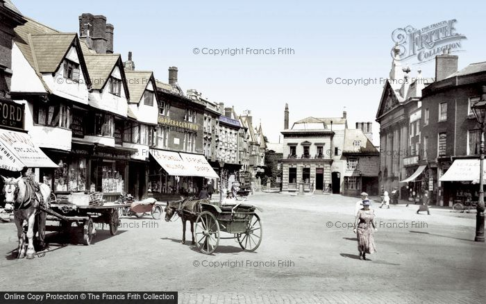 Photo of Banbury, Market Place 1921