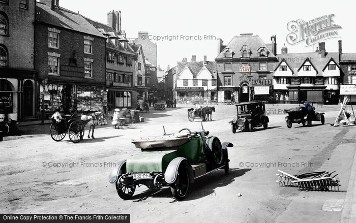 Photo of Banbury, Market Place 1921
