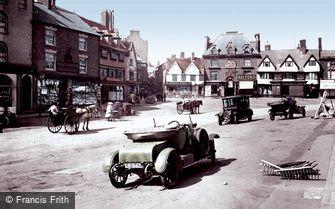 Banbury, Market Place 1921