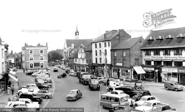 Photo of Banbury, Market Place 1960