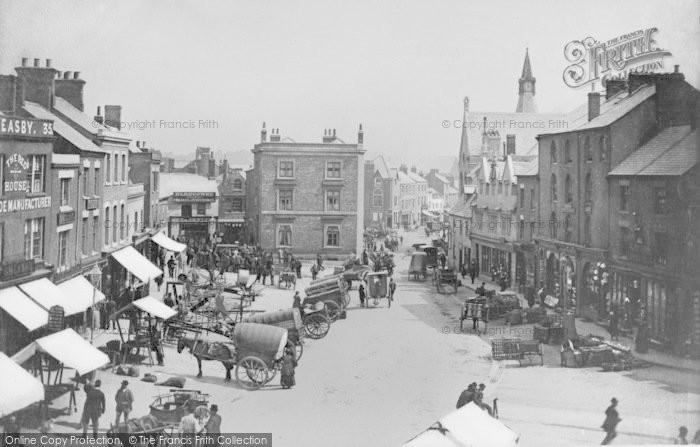 Photo of Banbury, Market Place c.1880