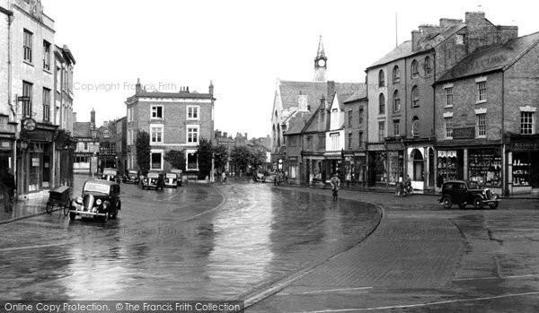 Banbury, Market Place c.1955