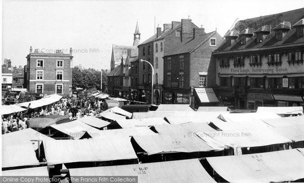 Photo of Banbury, Market Place c.1955