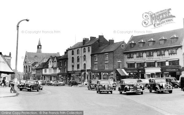 Photo of Banbury, Market Place c.1955