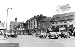 Banbury, Market Place c.1955