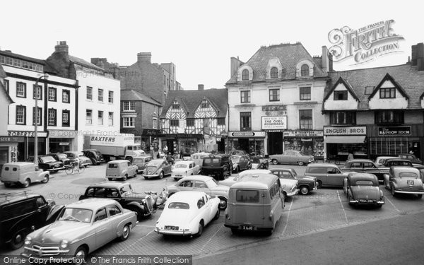 Photo of Banbury, Market Place c.1960