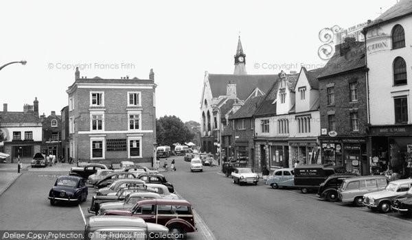Photo of Banbury, Market Place c.1960