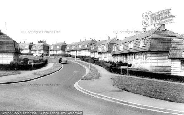 Photo of Banbury, Mold Crescent c.1960