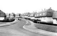 Banbury, Mold Crescent c.1960