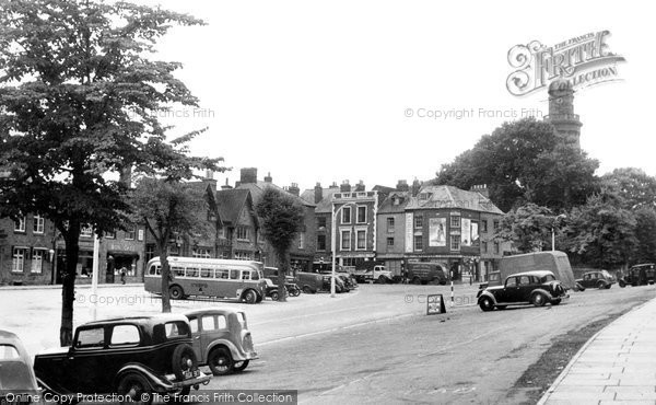 Photo of Banbury, North Bar c.1955
