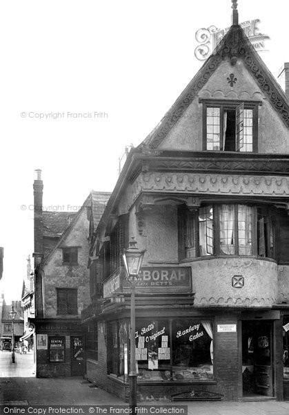 Photo of Banbury, Old Cake Shop 1921