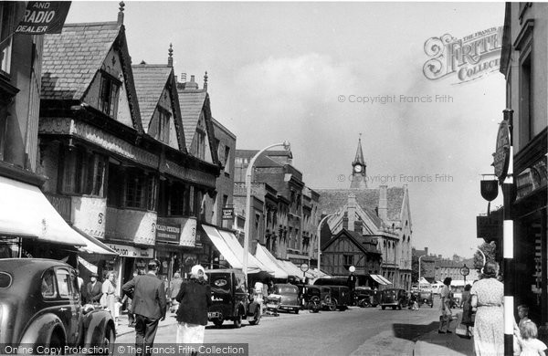 Banbury, Old Houses, High Street c.1955