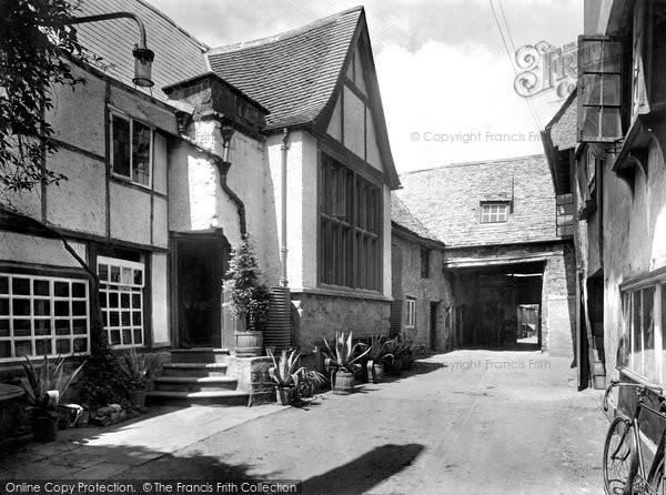 Photo of Banbury, Old Reindeer Inn 1921