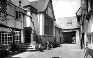 Banbury, Old Reindeer Inn 1921