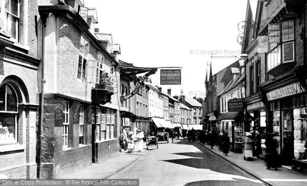Photo of Banbury, Parson's Street 1921