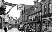 Banbury, Parson's Street c.1955