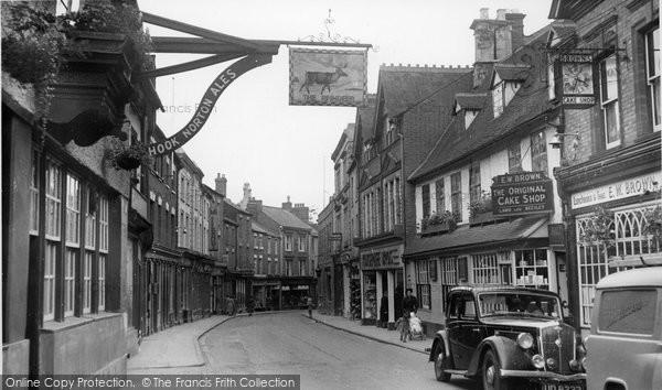 Photo of Banbury, Parson's Street c.1955
