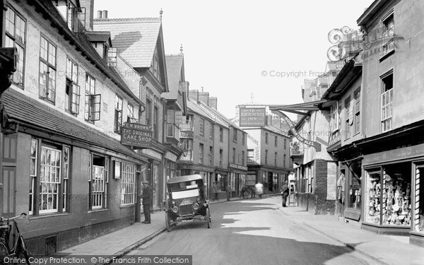 Photo of Banbury, Parsons Street 1921
