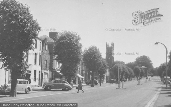 Photo of Banbury, South Bar And St John's Church c.1955