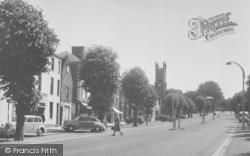 Banbury, South Bar And St John's Church c.1955