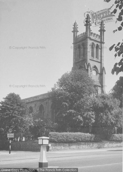 Photo of Banbury, St John's Church c.1955